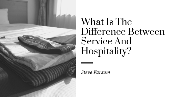 What Is The Difference Between Service And Hospitality?